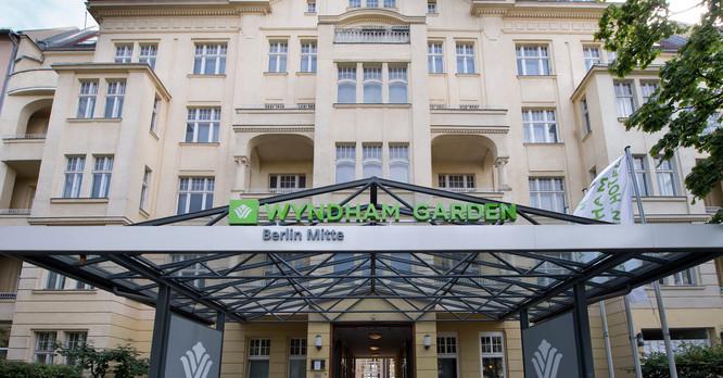 Hotelzimmer Berlin Tegel Wyndham Garden Berlin Mitte Hotel